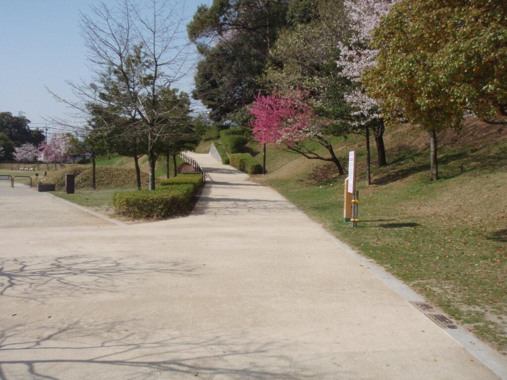 愛知県小牧山歩道